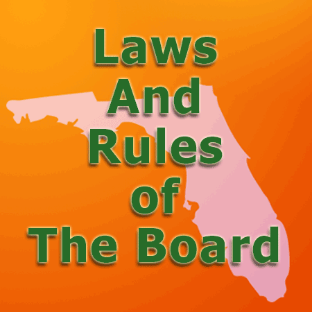 Laws And Rule Of The Board