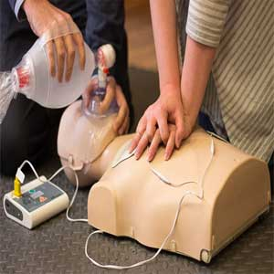 Heartsaver CPR AED Adult Infant Child AHA