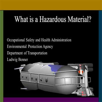 Hazardous Materials – Occupational Safety and Health Administration