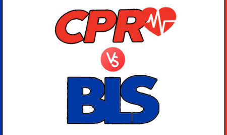 CPR certification or BLS certification