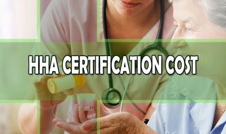 hha certification cost