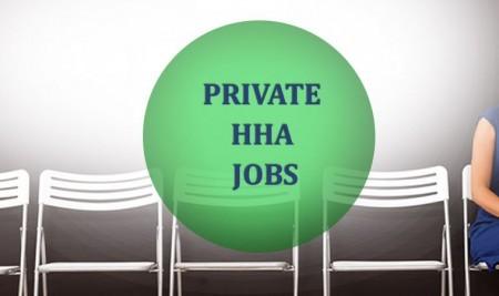 private hha jobs