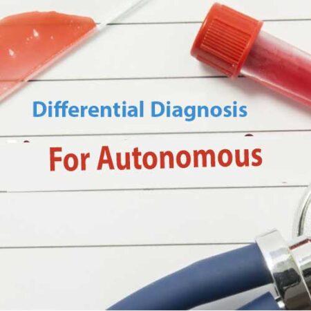 Differential Diagnosis For Autonomous